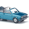 004604 VW Golf I Cabrio blue met