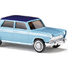 009003 Fiat 1800 pastel coloured with night blue roof