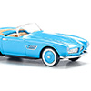 082906 BMW 507 convertible light blue