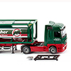 Wiking/ヴィ-キング 053603 Tank container semi-truck 30' (MB Actros)