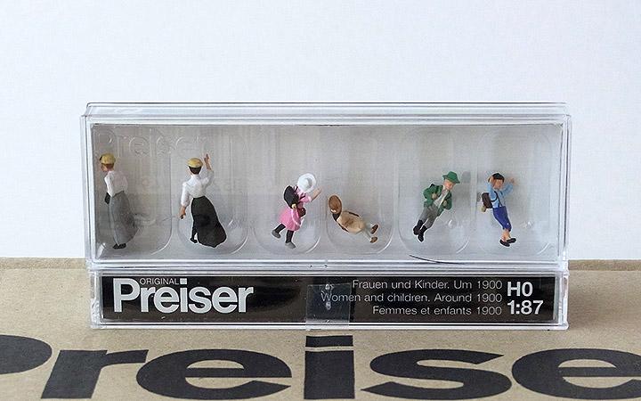 """Preiser 12194 H0 Figuren /""""Frauen und Kinder um 1900/""""  #NEU in OVP##"""