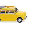 009905 フィアット 600 with folding roof yellow