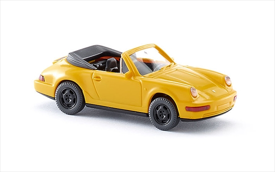 "Wiking/ヴィーキング 016504 ポルシェ carrera Cabr. - yellow"" border="