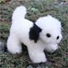ケーセン社マスコット犬白黒
