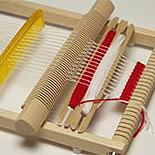 毛糸・織り機