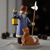 Wolfgang Braun WB夜警と犬