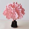 飛び出すグリーティングカード 桜満開