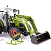 077829 Claas Arion 430 with front loader 120