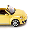 Wiking/ヴィ-キング 002801 VW The Beetle cabriolet saturn yellow