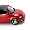 Wiking/ヴィ-キング 002849 VW The Beetle Cabrio (closed) - tornado red