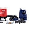 Wiking/ヴィ-キング 052348 Container semi-truck (NG) (MAN TGX Euro 6)