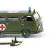 Wiking/ヴィ-キング 069508 German Army - Ford FK 1000 bus