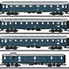maerklin/メルクリン 42228 急行客車4両セット for DB BRE17