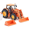 077342 1/32 John Deere 7430 front loader and attachments